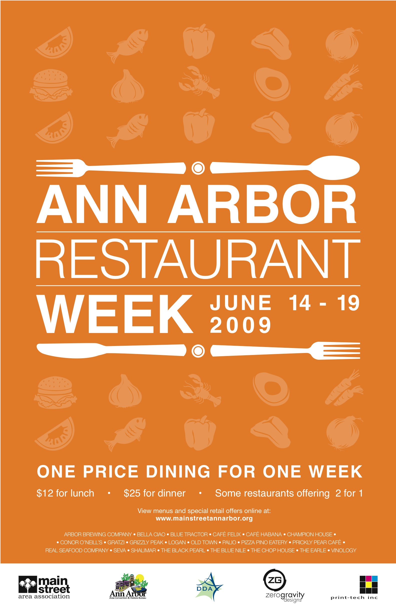 RESTAURANT WEEK : All posts