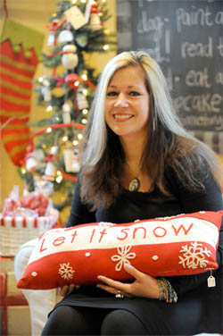Less is more for Ann Arbor's Red Shoes Home Goods during the holidays