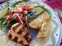 Shikes Haines: Simple Summer Supper