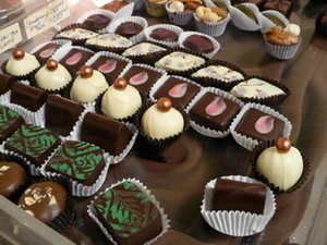 Shikes Haines - selection of Sweet Gems truffles