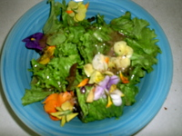 Bilyeu Edible Flower Salad.JPG