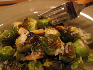 lampman, roasted brussel sprouts