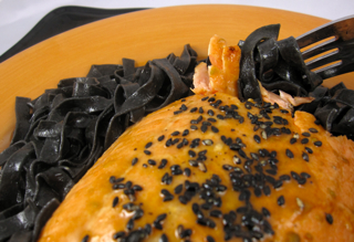 recipes from people who cooked up al dente squid ink fettuccine on halloween are coming in fast and furiously but remember these recipes are delicious any