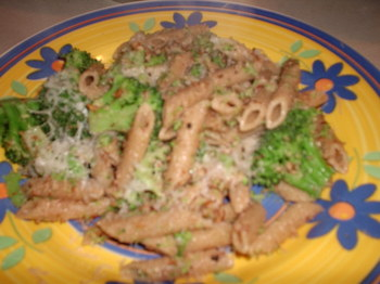 Garlic-Pecan Penne with Broccoli.JPG