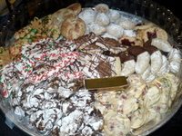 The Biscotti Factory holiday cookies