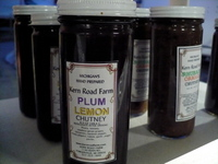 Kern Road Farm chutneys and jams
