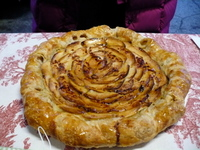 Cecilia's Pastries Rustic Apple Tart