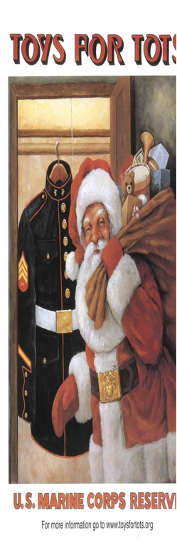 Marine Toys For Tots Poster : Toys for tots begins at briarwood mall with jim harper and