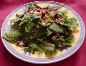 Blue Cheese, Walnut and Cherry Salad.JPG