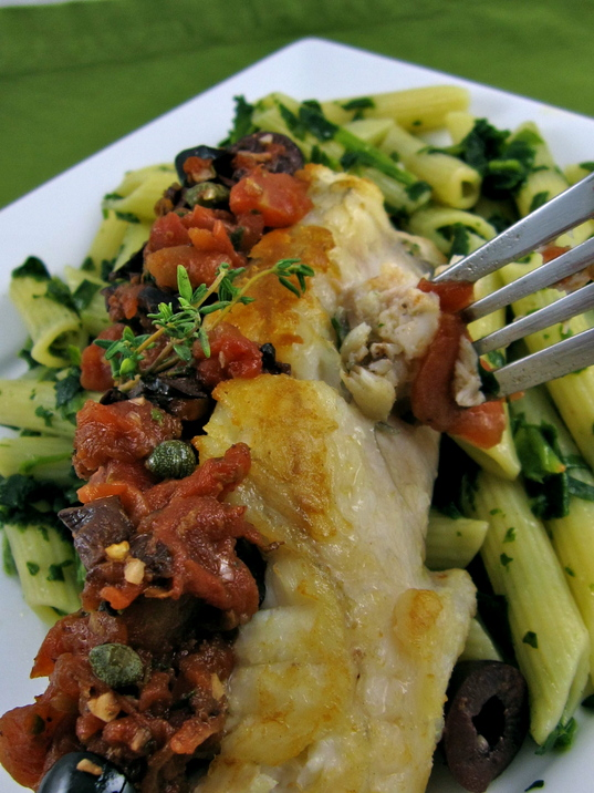 Peggy lampman 39 s friday dinnerfeed roasted monkfish with for Monk fish recipes