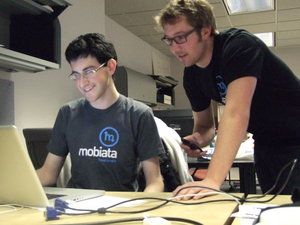 Mobiata executives Ben Kazez and Jason Bornhorst.JPG