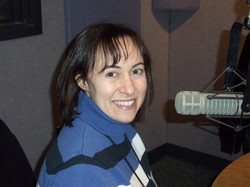 Dr.-Abbie-Lawrence-Jacobson-in-the-WLBY-Studio