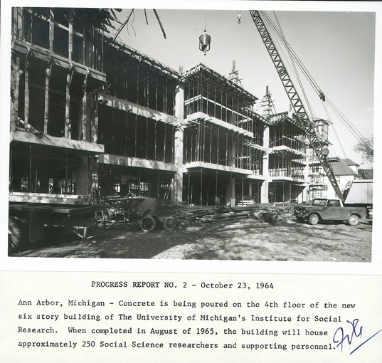 this 1964 photo from the bentley historical library shows construction. Cars Review. Best American Auto & Cars Review