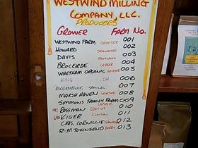 Borden - Westwind Milling Company list of farms