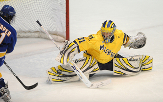CCHA: Michigan Upset By Last-place Bowling Green, 4-3