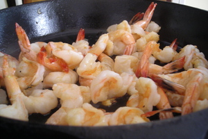Borden - skillet of shrimp
