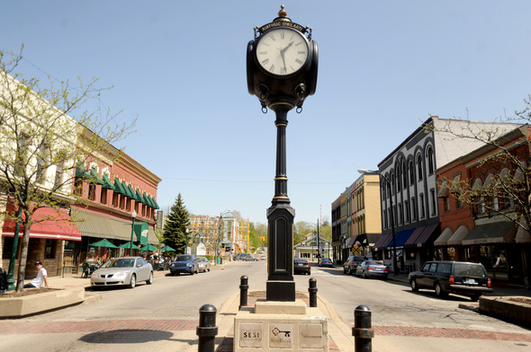 Mayor Paul Schreiber likes to say that Ypsilanti is a city in transition from its past as a blue-collar town to its future as a cultural alternative to