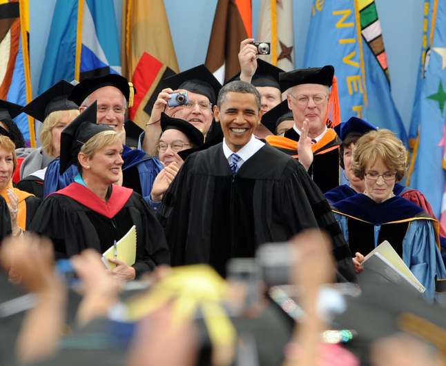 University of Michigan commencement speeches through the years