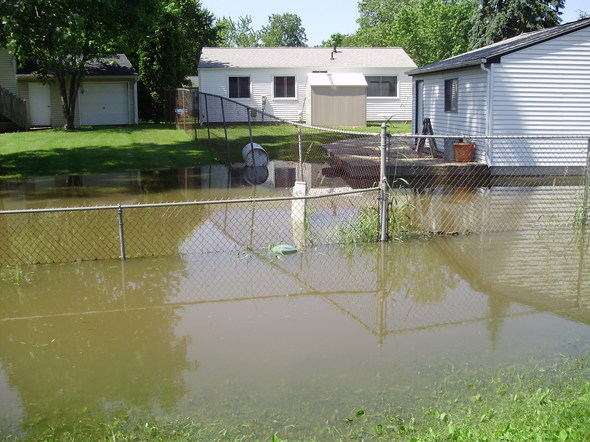 Residents want ann arbor city council to form task force for Backyard flooding solutions