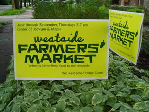 Borden - wsfm lawn sign