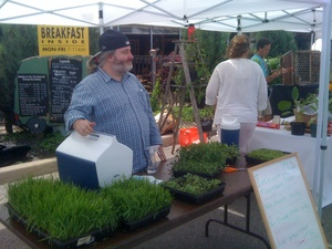 Borden - Inchworm Microgreens at WSFM