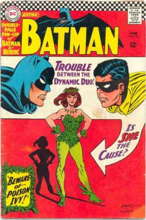 poison ivy batman comic. Pamela Isley is Poison Ivy in