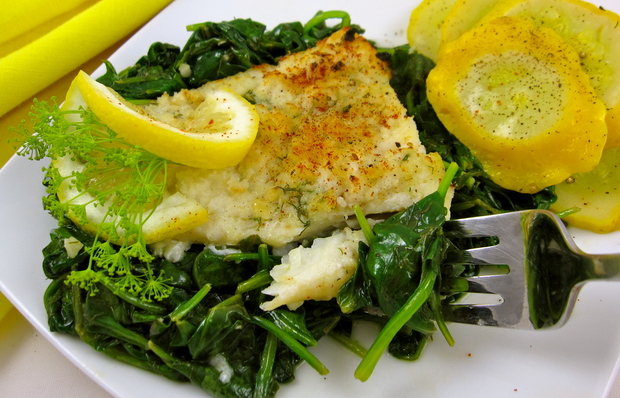 Baked Lemon Herb Cod Recipes — Dishmaps