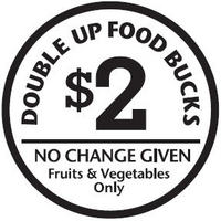 Borden - Double up food bucks back logo