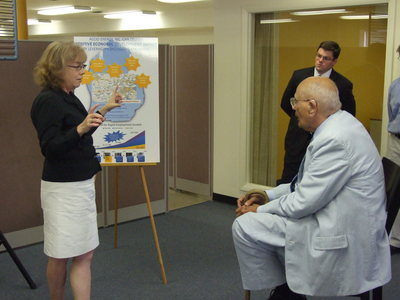 Dawn White and John Dingell.JPG