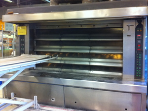 Borden - industrial bread oven at Zingermans Bakehouse