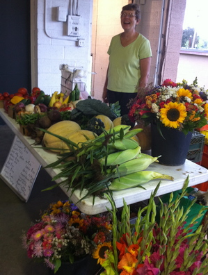 Borden - Goetz Farm stand at Lunasa