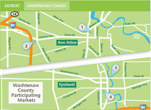 Borden - Washtenaw participating markets