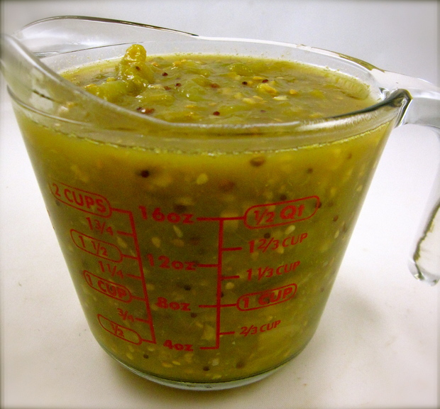 Peggy Lampman's Wednesday dinnerFeed: Green tomato chutney