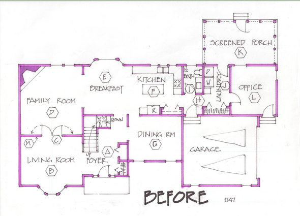 Suburban House Floor Plans House Interior