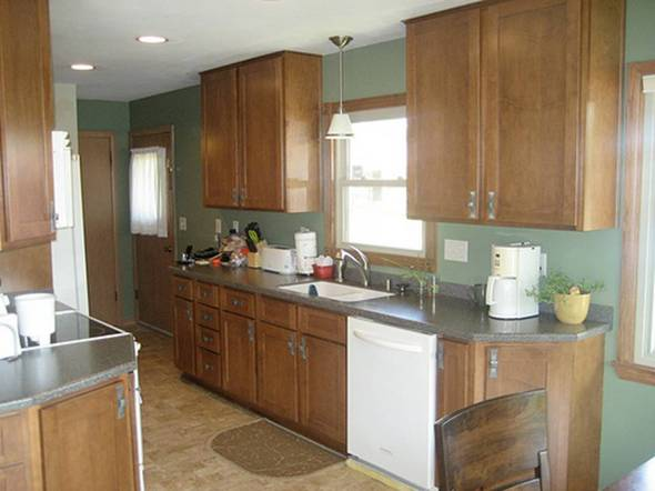 Flat Or Satin Paint For Kitchen Cabinets - Kitchen