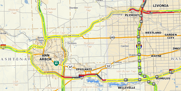 Planning A Trip Or Driving Around Town A Look At I 94 Us 23 M 14 - Us-23-map