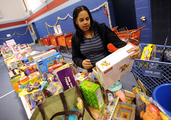 Salvation Army Toy Shop gives families a chance to select gifts ...