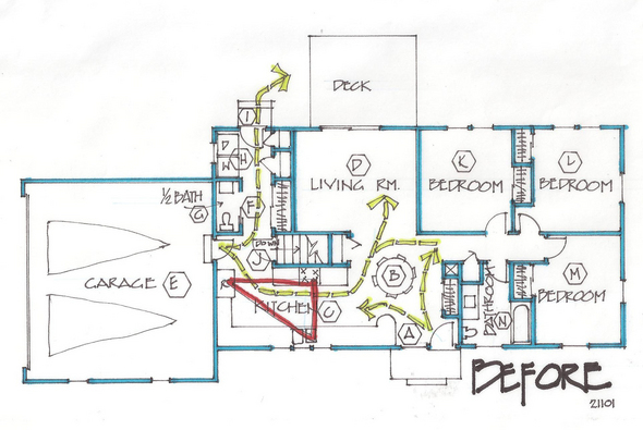 1950's and 1960's Retro House Plans Ramblers to Contemporary
