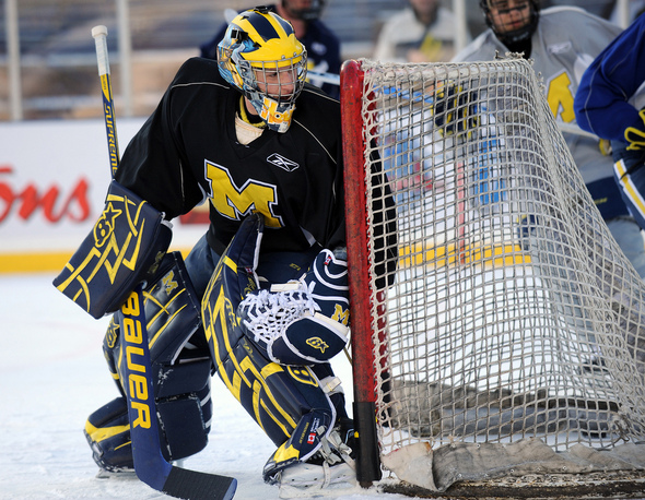 CCHA: Wolverines' Goalie Shawn Hunwick's 10-month Journey Continues To Be Interesting