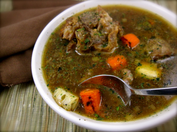 Peggy Lampman S Wednesday Dinnerfeed Oxtail Soup