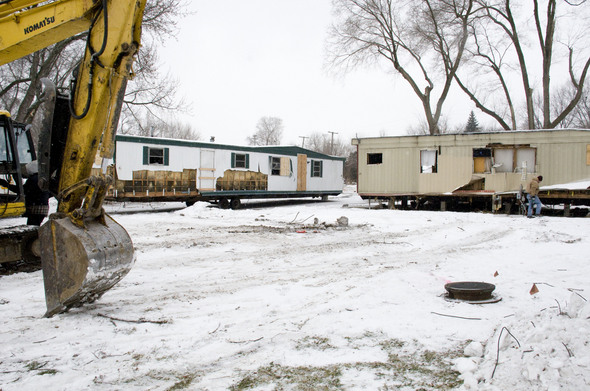 Work Crews Begin Clearing Abandoned Ypsilanti Mobile Village Trailer Park After Judge Orders Cleanup