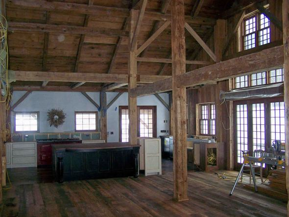 Beautiful barn home interiors Barn home interiors