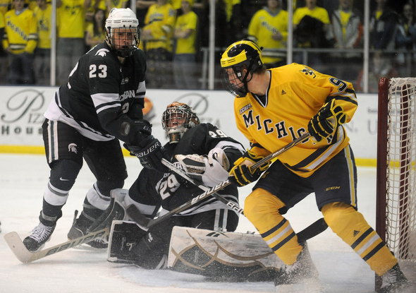 CCHA: Michigan Hockey Team Not Worried About Rankings, Focuses On Getting Better For Stretch Run