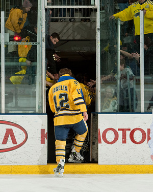 the best attitude a7d82 ca5f5 Former Michigan hockey star Carl Hagelin finds his way for ...
