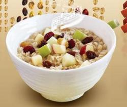 Borden - McDonalds bowl of oatmeal from their website