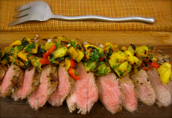 mango salsa that has grilled pineapple salsa via like this our cinco ...