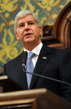 Thumbnail image for Rick_Snyder_State_of_the_State_RickSnyder_podium.jpg
