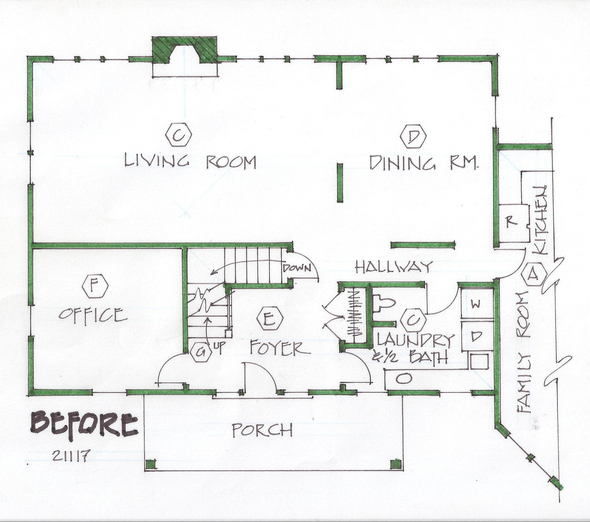 Empty Nester House Plans Under 2000 Square Feet as drawn by Studer