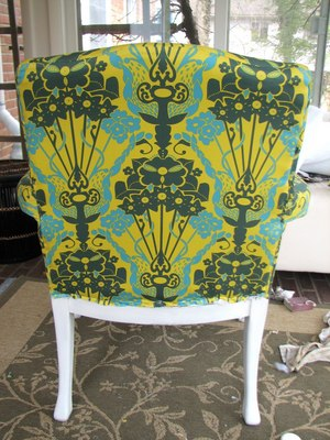 how to reupholster a queen anne chair