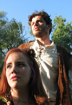 "Jamie Weeder as Ariel and Barton Bund as Prospero in ""The Tempest."" - 060511_TEMPEST-thumb-250x359-79405"